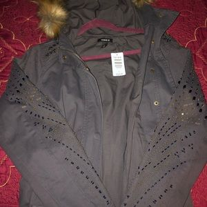 Torrid Fur hooded Anorak
